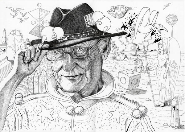 Jean Giraud by PhilLP